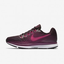 Nike Air Zoom Pegasus 34 Damen Laufschuhe Port Wine/Tea Berry/Schwarz/Rosa mortal 880560-603