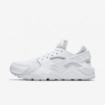 Nike Air Huarache Herren Schuhe Weiß/Weiß/Reines Platin 318429-109