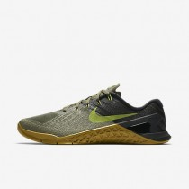 Nike Metcon 3 Herren Trainingsschuhe Medium Olive/Schwarz/Gum Medium Braun/Bright Cactus 852928-201