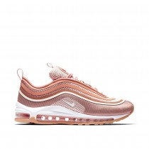 Nike Damen Air Max 97 Ultra '17 Rose/Weiß 917704-600