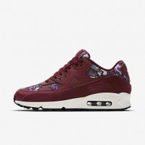 Nike Air Max 90 SE Damen Schuhe Team Rot/Night Maroon/Sail 881105-600