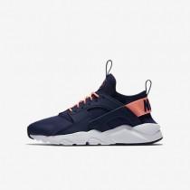 Nike Air Huarache Ultra Damen Schuhe Binary Blau/Weiß/Schwarz/Lava Glow 847568-401