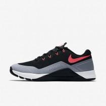 Nike Metcon Repper Dsx Damen Trainingsschuhe Schwarz/Kaltes Grau/Weiß/Solar Rot 902173-008
