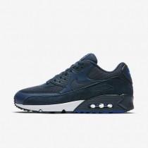 Nike Air Max 90 Essential Herren Schuhe Armoury Navy/Blau Jay/Weiß 537384-422