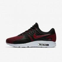 Nike Air Max Zero SE Herren Schuhe Schwarz/Reines Platin/Tough Rot 918232-002