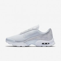 Nike Air Max Jewell Premium Textile Damen Schuhe Reines Platin/Weiß/Metallic Silber 917672-001