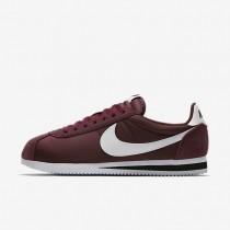 Nike Classic Cortez Nylon Unisex Schuhe Dunkel Team Rot/Schwarz/Weiß 807472-601