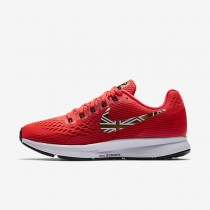 Nike Air Zoom Pegasus 34 Mo Farah Damen Laufschuhe Bright Crimson/Schwarz/University Rot/Metallic Gold AA3776-607