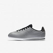 Nike Cortez Premium Damen Schuhe Reflect Silber/Weiß/Schwarz/Reflect Silber 905469-001