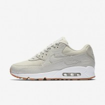 Nike Air Max 90 Premium Damen Schuhe Light Bone/Gummi gelb/Weiß/Light Bone 896497-001