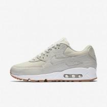 Nike Air Max 90 Premium Damen Schuhe Light Bone/Gummi gelb/Weiß/Light Bone 896497-001