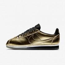 Nike Classic Cortez Leather SE Damen Schuhe Metallic Gold/Weiß/Schwarz 902854-700