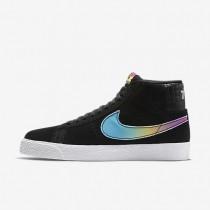 Nike SB Zoom Blazer Mid 'Lance Mountain' Herren Skateboard Schuhe Schwarz/Multi-Color AH6158-090