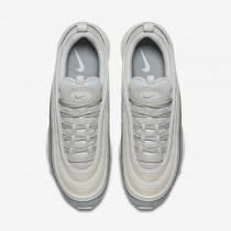 Nike Air Max 97 Premium Herren Schuhe Light Pumice/Summit Weiß/Barely Grau/Schwarz 312834-004