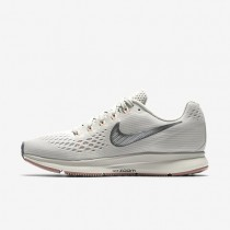 Nike Air Zoom Pegasus 34 Damen Laufschuhe Light Bone/Blassgrau/Sail/Chrome 880560-004