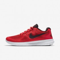 Nike Free RN 2017 Damen Laufschuhe University Rot/Port Wine/Solar Rot/Light Thistle 880840-602