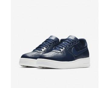 Nike Air Force 1 Ultraforce Leather Low Herren Schuhe Midnight Navy/Summit Weiß 845052-403