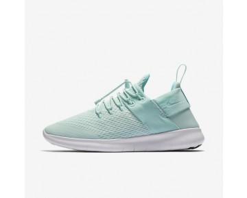 Nike Free RN Commuter 2017 Premium Damen Laufschuhe Igloo Grün/Aurora/Weiß/Night Violett 880842-300