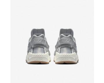 Nike Air Huarache Premium Damen Schuhe Wolf grau/Sail/Gum Medium Braun 683818-012