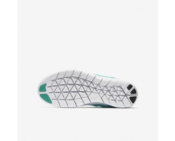 Nike Free RN 2017 Damen Laufschuhe Aurora/Clear Jade/Volt/Metallic Silber 904258-300