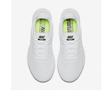 Nike Free RN 2017 Herren Laufschuhe Weiß/Schwarz/Reines Platin/Weiß 880839-100
