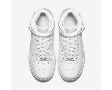 Nike Air Force 1 Mid 07 Leather Damen Schuhe Weiß/Weiß 366731-100