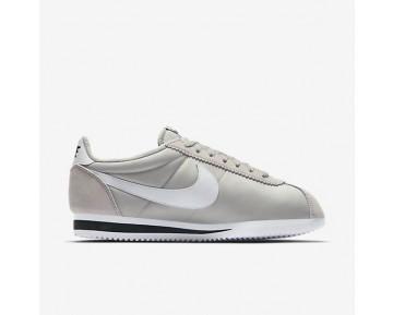 Nike Classic Cortez Nylon Unisex Schuhe Blassgrau/Schwarz/Weiß 807472-006