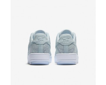 Nike Air Force 1 Flyknit Low Damen Schuhe Glacier Blau/Weiß/Vapour Grün 820256-400