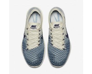 Nike Free TR Flyknit 2 Indigo Damen Trainingsschuhe Sail/Cerulean/College Navy 904656-104