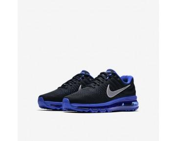 Nike Air Max 2017 Damen Laufschuhe Schwarz/Game Royal/Weiß/Reflect Silber 851622-007