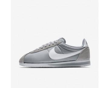 Nike Classic Cortez Nylon Unisex Schuhe Wolf grau/Weiß 807472-010