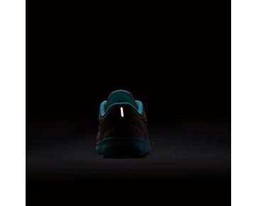 Nike Free RN Damen Laufschuhe Lava Glow/Schwarz/Still Blau/Metallic Silber 833993-601