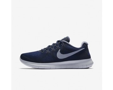 Nike Free RN 2017 Damen Laufschuhe Binary Blau/Obsidian/Gym Blau/Dunkel Sky Blau 880840-404