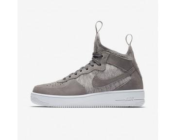 Nike Air Force 1 Ultraforce Mid Premium Herren Schuhe Kaltes Grau/Weiß 921126-003