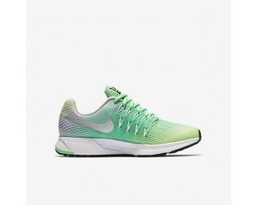 Nike Air Zoom Pegasus 33 Damen Schuhe Ghost Grün/Electro Grün/Reines Platin/Metallic Silber 834317-301