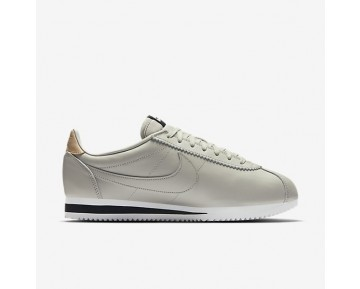 Nike Classic Cortez Leather SE Herren Schuhe Blassgrau/Schwarz/Vachetta Tan 861535-005