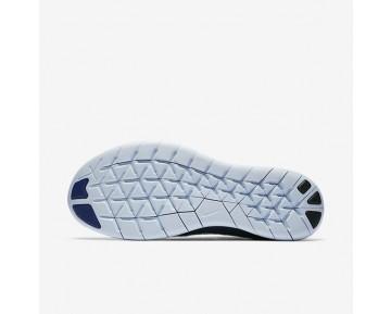 Nike Free RN 2017 Flyknit Damen Laufschuhe Ocean Fog/College Navy/Deep Royal Blau/Cirrus Blau 880844-404