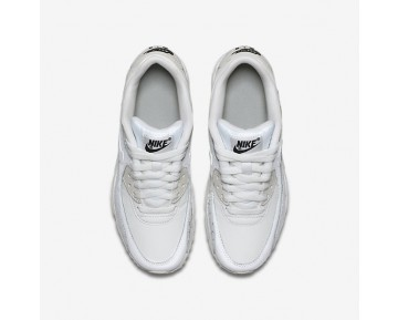 Nike Air Max 90 Leather SE Damen Laufschuhe Summit Weiß/Schwarz/Metallic Silber/Summit Weiß 897987-100