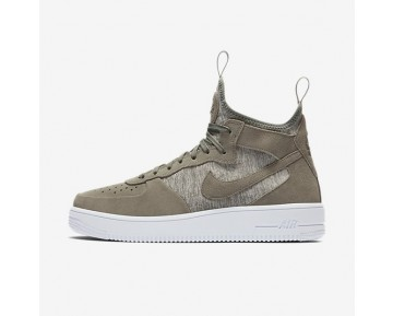 Nike Air Force 1 Ultraforce Mid Premium Herren Schuhe Dunkler Stuck/Weiß/Dunkler Stuck 921126-002