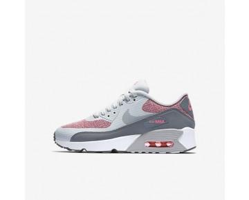 Nike Air Max 90 Ultra 2.0 Damen Schuhe Reines Platin/Hot Punch/Weiß/Kaltes Grau 917989-001