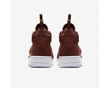 Nike Air Force 1 Ultraforce Mid Premium Herren Schuhe Dunkel Team Rot/Dunkel Team Rot-Weiß 921126-600