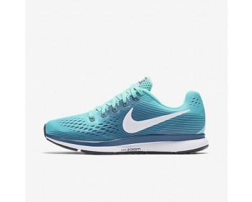 Nike Air Zoom Pegasus 34 Damen Laufschuhe Hyper Turquoise/Legion Blau/Mica Blau/Weiß 880560-300