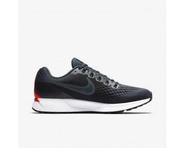 Nike Air Zoom Pegasus 34 Damen Laufschuhe Blau Fox/Bright Crimson/Weiß/Schwarz 880560-403