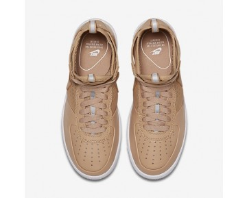 Nike Air Force 1 Ultraforce Mid Damen Schuhe Vachetta Tan/Weiß/Vachetta Tan 864025-200