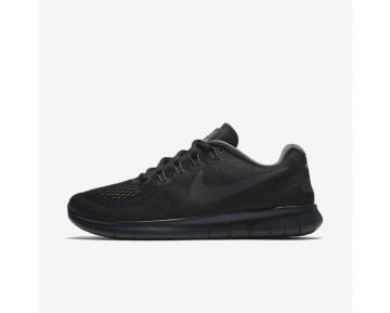 Nike Free RN 2017 Damen Laufschuhe Schwarz/Dunkelgrau/Kaltes Grau/Anthracite 880840-003
