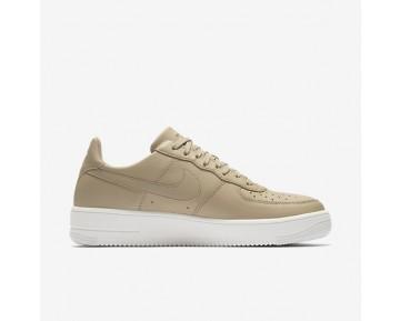 Nike Air Force 1 Ultraforce Leather Low Herren Schuhe Mushroom/Schwarz/Summit Weiß 845052-202