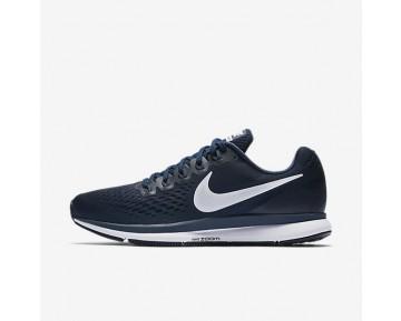Nike Air Zoom Pegasus 34 Herren Laufschuhe Obsidian/Neutral Indigo/Blau Recall 880555-401