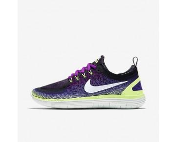 Nike Free RN Distance 2 Damen Laufschuhe Hyper Violet/Dunkel Iris/Ghost Grün/Weiß 863776-501