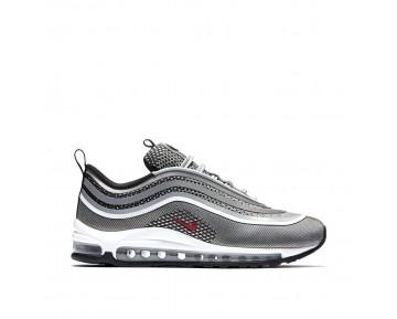 Nike Damen Air Max 97 Ultra '17 'Silber Bullet' Silber/Schwarz/Rot 917704-002