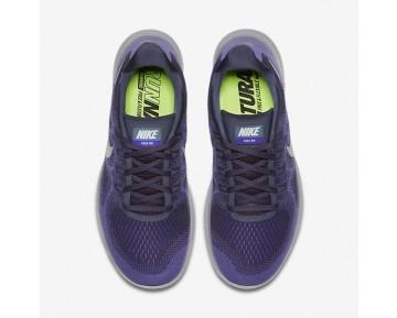 Nike Free RN 2017 Damen Laufschuhe Dunkel Raisin/Violett Earth/Hyper Grape/Reines Platin 880840-500